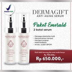 Dermagift Anti Aging Paket Emerald logo