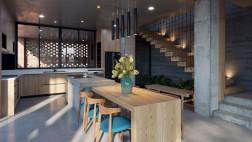 3D SCENE - V-Ray for Sketchup Chivi House