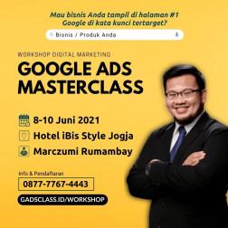 Workshop Google Ads Masterclass logo