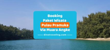 Pembayaran DP [Down Payment] Booking Paket Wisata Pulau Pramuka Via Kaliadem Muara Angke [DP Rp.100.000/org] logo