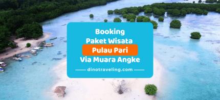 Pembayaran DP [Down Payment] Booking Paket Wisata Pulau Pari Via Kaliadem Muara Angke [DP Rp.100.000/org] logo