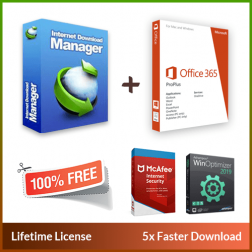 Internet Download Manager + Office 365 logo