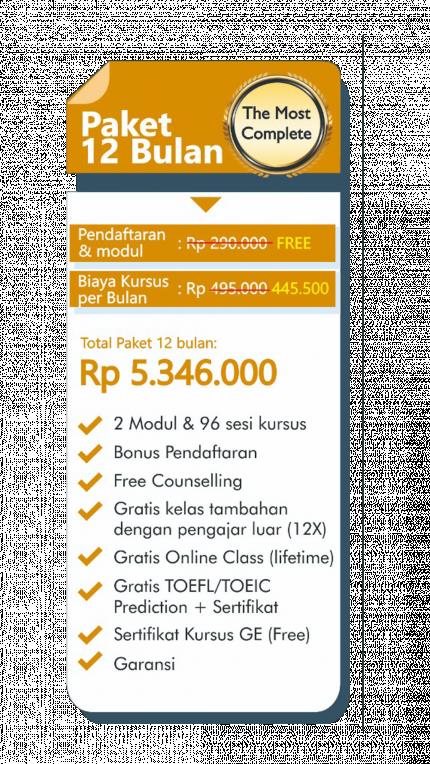 Program English For Business GE Tebet