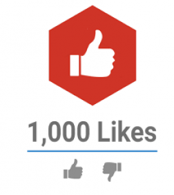 1,000 Youtube Likes logo