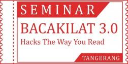 Tiket Seminar Bacakilat TANGERANG logo