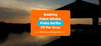 Pembayaran DP [Down Payment] Booking Paket Wisata Pulau Seribu [DP Rp.500.000/grup] logo