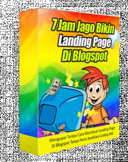 7 Jam Jago Membuat Landingpage Di Blogspot logo