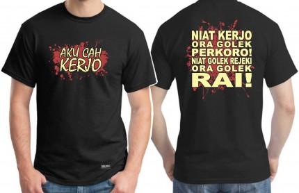 Kaos Aku Cah Kerjo logo