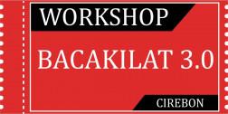 Tiket Workshop Bacakilat 3.0 CIREBON 04/04/2020 logo