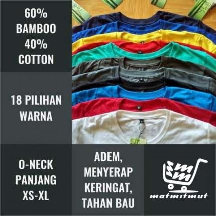 Kaos Cotton Bamboo