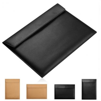 Premium Leather Sleeve Case for MacBook Pro dan Air 13 inch logo