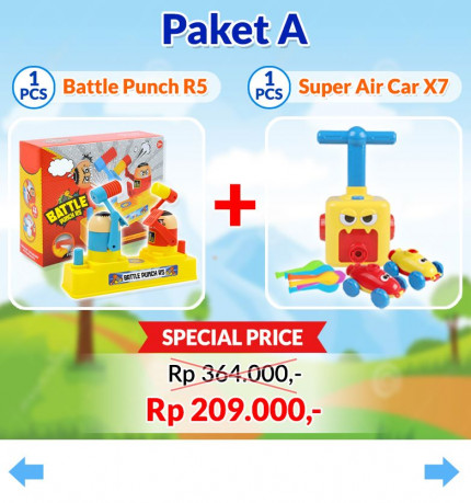 Battle Punch R5 + Super Air Car X7 [B] logo