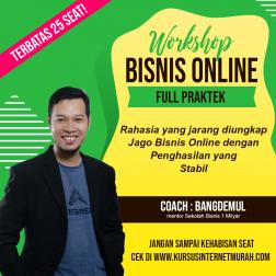 Workshop Bisnis Online Pemula logo