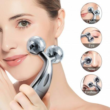 Pelangsing Wajah 3D Roller Platinum
