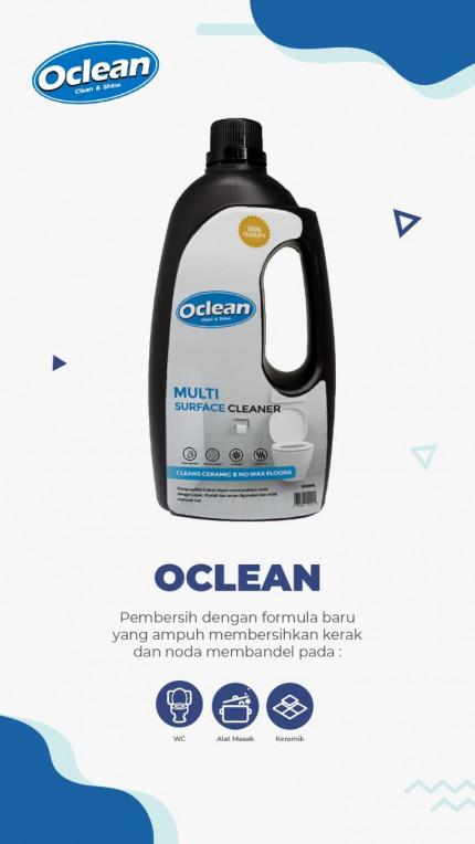 OCLEAN - Clean & Shine* logo