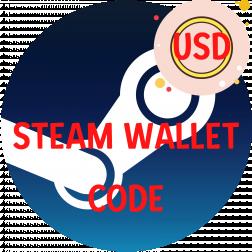 STEAM WALLET USD logo