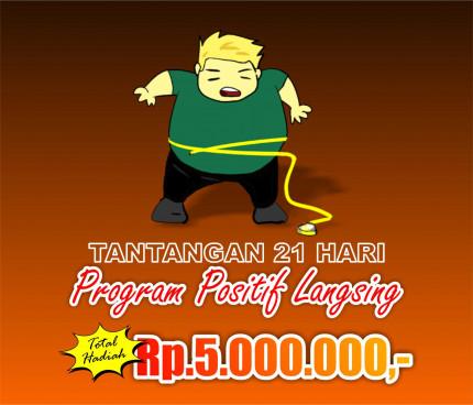 Tantangan 21 Hari Program Positif Langsing logo