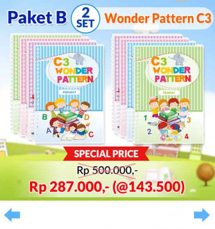 Wonder Pattern C3 [A2]