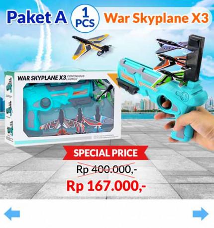War Skyplane X3 [A] logo