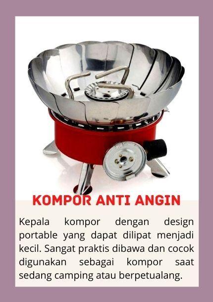 Kompor Anti Angin