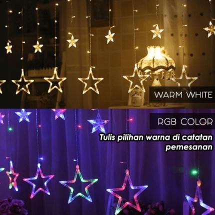 Lampu Dekorasi Tirai Bintang logo