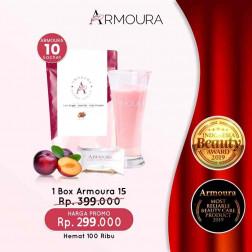 Armoura Ultra Cream 1 Box Isi 15 Sachet logo