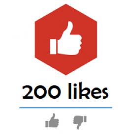 200 Youtube Likes logo