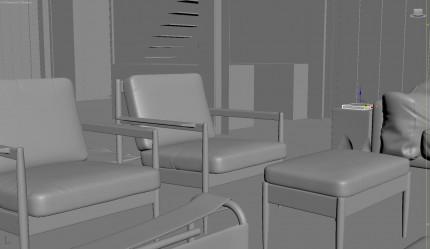 3D SCENE - 3DSMAX & Corona Exterior Doll House