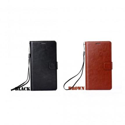 OPPO F11 Pro Flip Wallet Leather Case logo