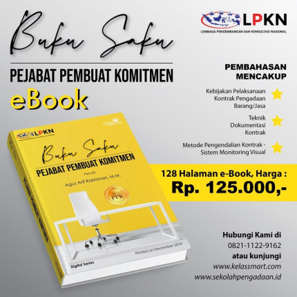 E Book - Buku Saku Pejabat Pembuat Komitmen (PPK) logo