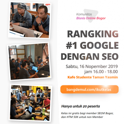 Kelas Komunitas Bisnis Online Bogor logo