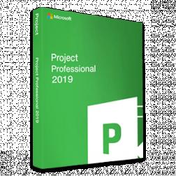 Microsoft Project Professional 2019 logo