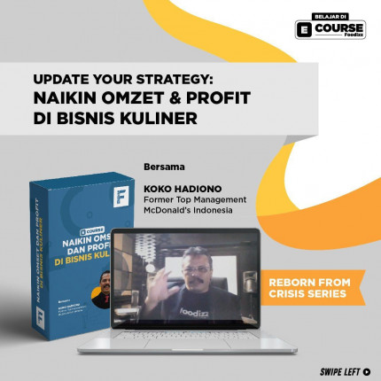 E-Course Update Strategy: Naikin Omset & Profit di Bisnis Kuliner