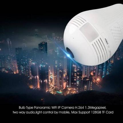 #004  - Bohlam Lampu Wifi Camera