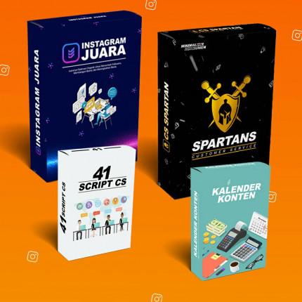 IG JUARA & CS SPARTAN logo