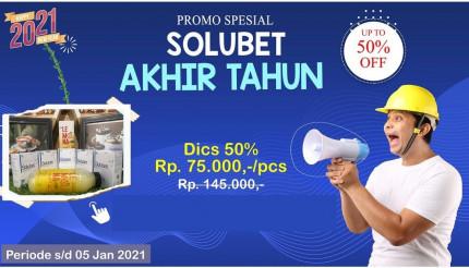 PAKET PROMO 50% SOLUBET AKHIR TAHUN logo