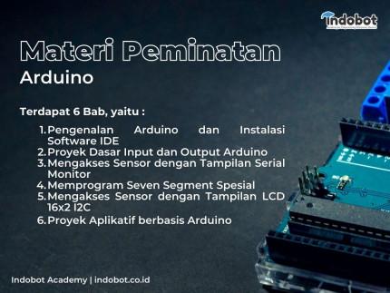 Old 001 - Daftar Belajar Elektronika Indobot Academy