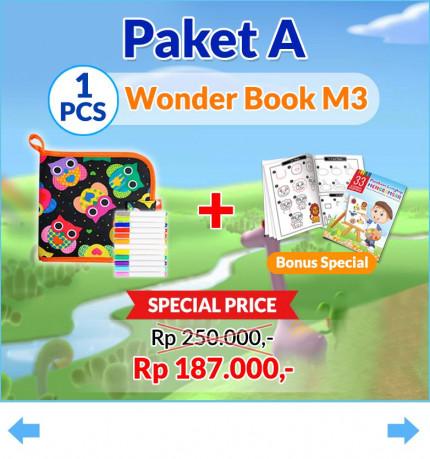Wonder Book M3 logo