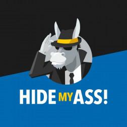 HIDE MY ASS logo