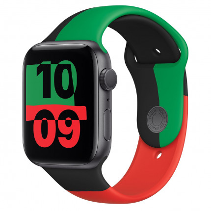 Apple Watch Series 6 44 mm Black Unity Limited Edition logo