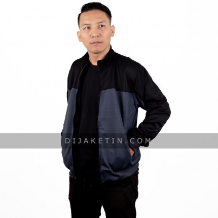 Jaket Sporty High Neck - Polos logo