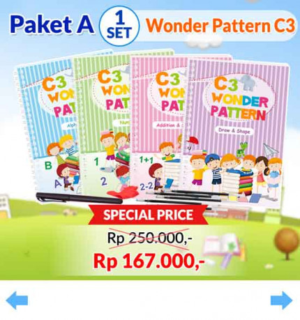 Wonder Pattern C3 [A2] logo