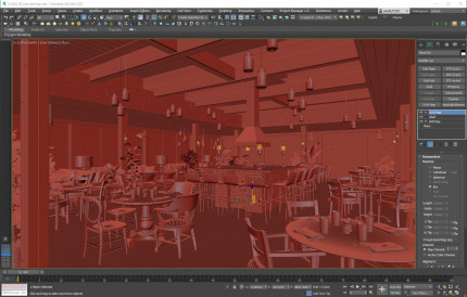 3D SCENE - V-Ray for 3DSMAX Light House