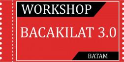 Tiket Workshop Bacakilat 3.0 BATAM 14/03/2020 logo
