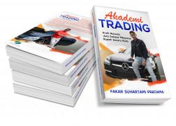 "Buku ""Akademi Trading - Profit ratusan juta sampai milyaran secara rutin logo"