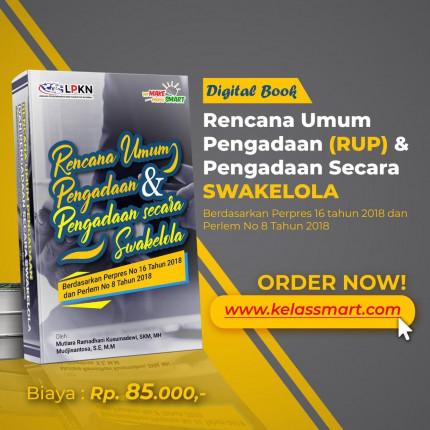 E-Book Rencana Umum Pengadaan (RUP) & Pengadaan Secara Swakelola logo