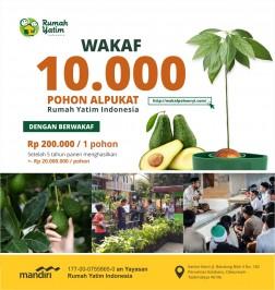 Wakaf 10.000 Pohon Alpukat Rumah Yatim Indonesia logo