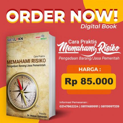 DIGITAL BOOK PDF - CARA PRAKTIS MEMAHAMI RISIKO PENGADAAN BARANG/JASA PEMERINTAH logo