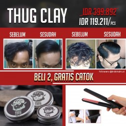Thug Clay logo