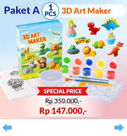 3D Wonder Art [A] logo